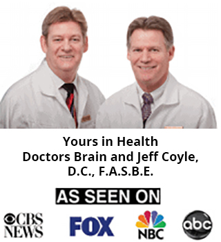 Doctors Brain and Jeff Coyle, D.C., F.A.S.B.E.